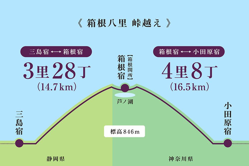 東海道の第一歩、いよいよスタート。 そうだ箱根峠、歩いてみよう!